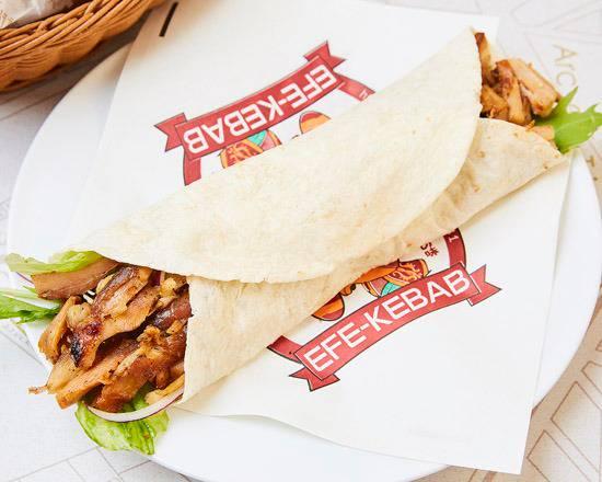 Chicken Kebab Wrap Efe Kebab